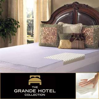 Grande Hotel Collection Comfort Loft 3-inch Memory Foam Mattress Topper with Cover