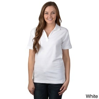 ADI Ultra Women's Double Pique Short-sleeve Polo Shirt