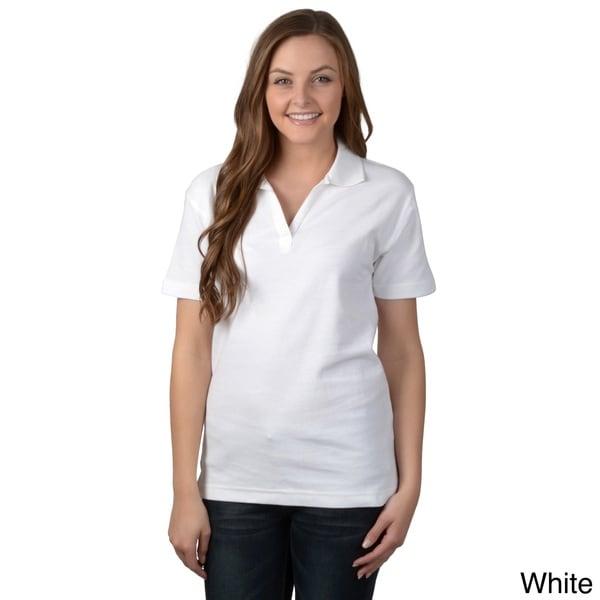 ADI Ultra Women's Double Pique Short-sleeve Polo Shirt