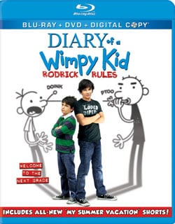 Diary Of A Wimpy Kid: Rodrick Rules (Blu-ray/DVD)