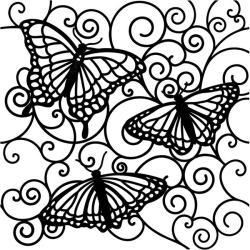 Crafter's Workshop Flutterby Template