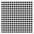 Crafter's Workshop Houndstooth Template