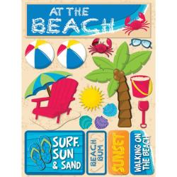 Signature Dimensional Beach Stickers
