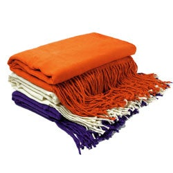 Cashmere Showroom Washable Faux Cashmere Throw