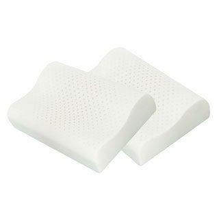Splendorest Contour Ventilated Molded Memory Foam Pillows (Set of 2)