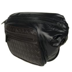 Bottega Veneta Nylon and Leather Hip Bag
