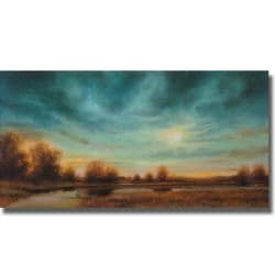 Gregory Williams 'Evening Approaches' Canvas Art