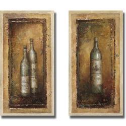 Patricia Pinto 'Serie Vino I and II' 2-piece Canvas Art Set
