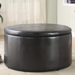 Harper Dark Brown Cocktail Table with K