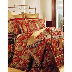 Sherry Kline China Art Red 6-piece Comforter Set | Overstock.com ...