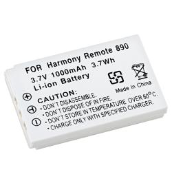 Logitech Harmony Remote 890 Li-ion Compatible Battery