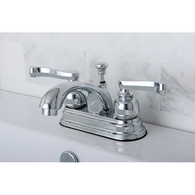 Bathroom Faucets Chrome : Metropolitan Chrome Widespread Bathroom Faucet