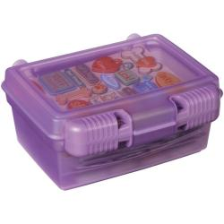 Art Bin Quick View Translucent Purple Carrying Case