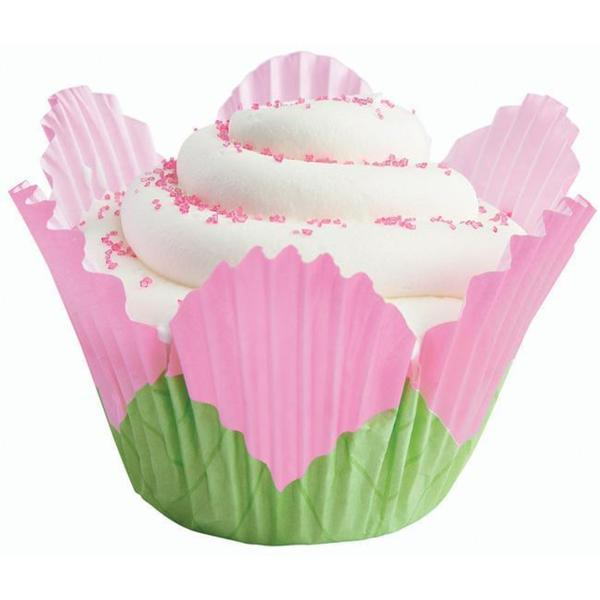 Wilton 'Petal Pink' Baking Cups (Pack of 24)