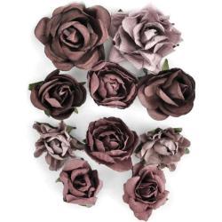 Aubergine Paper Blooms