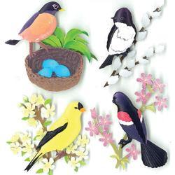 Jolee's Boutique Spring Birds Stickers