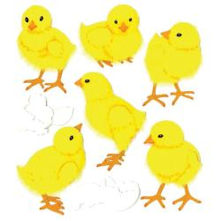 Jolee's Boutique Baby Chicks Stickers