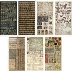 Advantus Tim Holtz Idea-Ology Cardstock Salvage Stickers