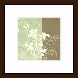 Paula Scaletta 'Spring Dream II' Wood-framed Art Print