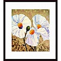 Lisa Feather Knee 'Paper Whites' Wood-framed Art Print
