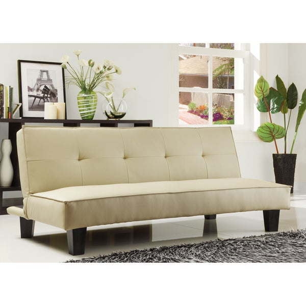 TRIBECCA HOME Bento Modern Mini Futon Sofa Bed