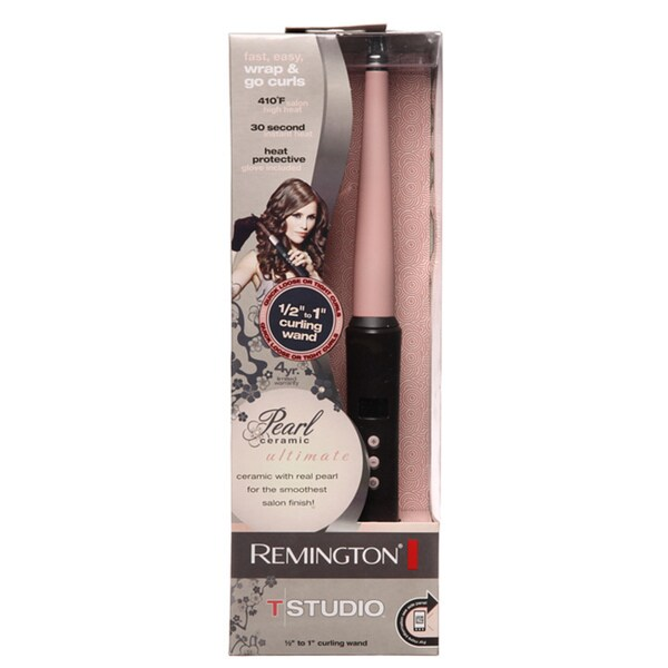 Remington Ceramic Pearl Curling Wand