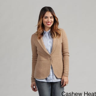 Oliver & James Women's Cashmere One-button Blazer