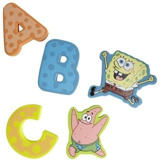 Munchkin SpongeBob SquarePants Floating Foam Letters