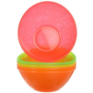 Munchkin Multi-colored Baby Bowls (Pack of 5)