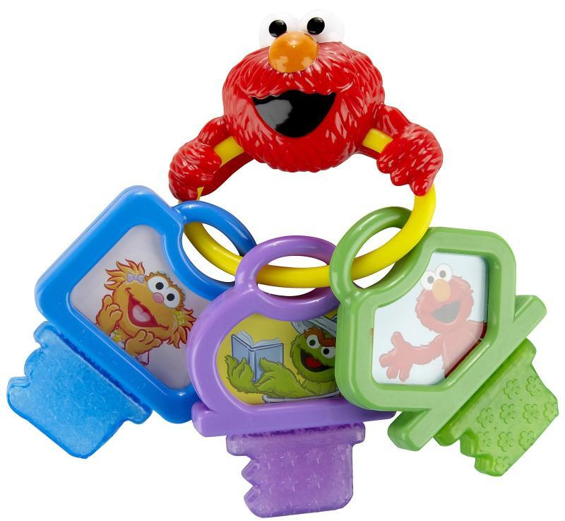 Munchkin Sesame Street Clicky Keys Teether