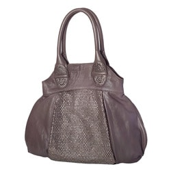 David & Scotti 'Stardust' Nappa Leather Studded Tote Bag