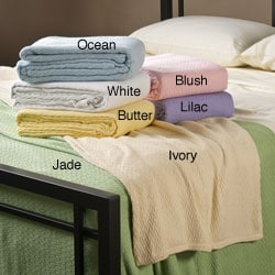 Sea Breeze Full/Queen-size 100-percent Cotton Blanket