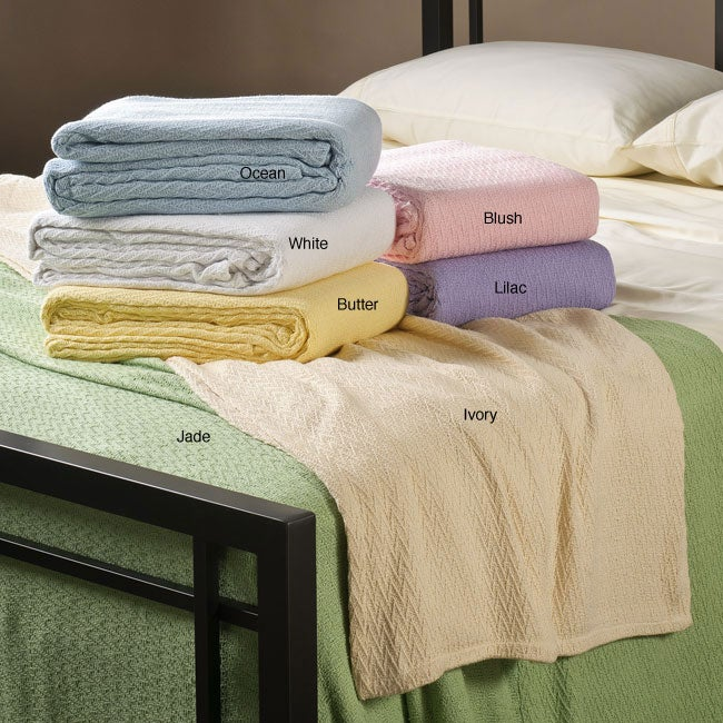 Sea Breeze Twin-size 100-percent Cotton Blanket