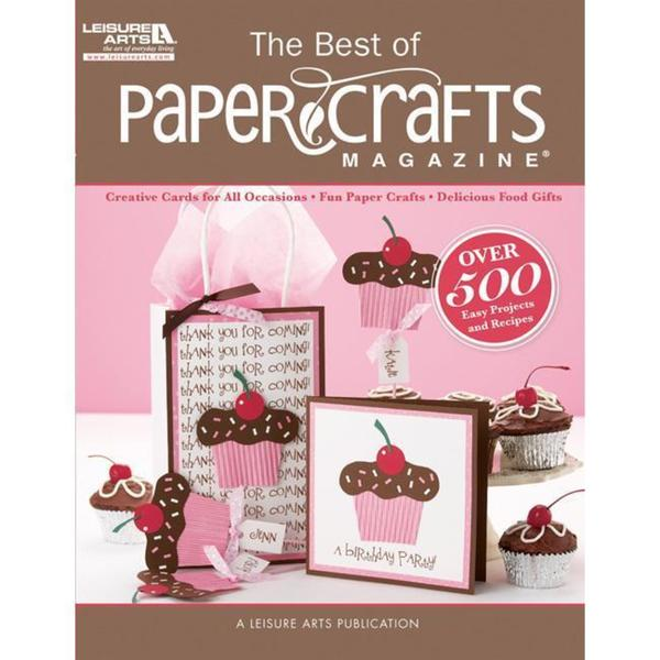 Leisure Arts Best Of Paper Crafts Magazine