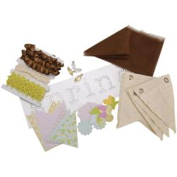 Making Memories Dilly Dally 'Spring' Canvas Banner Kit