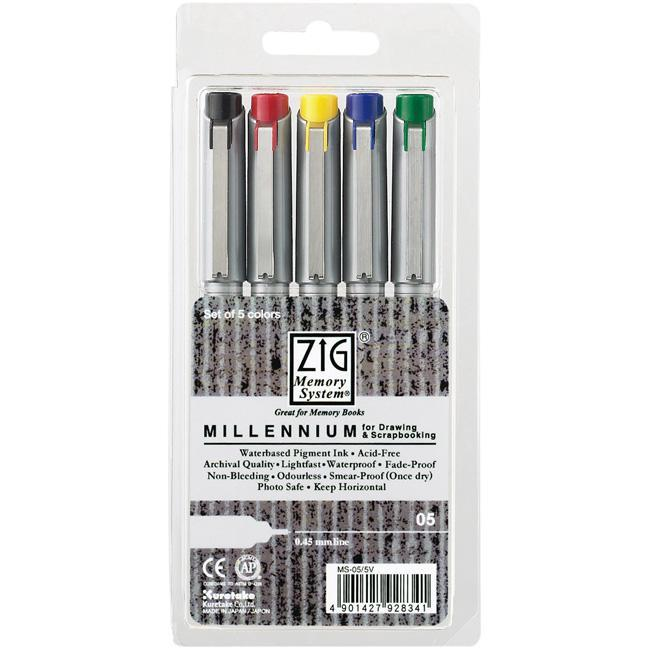 Zig Memory System Millennium Markers (Pack of 5)