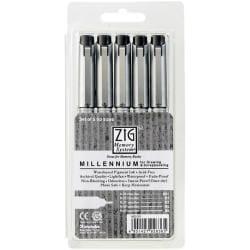 Zig Memory System Black Millennium Pen