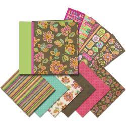Mega Pink and Brown Scrapbook Kit