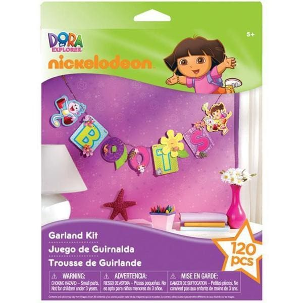 Nickelodeon Dora The Explorer Interlocking Garland Kit
