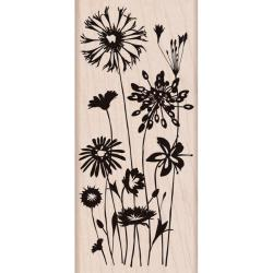 Hero Arts Wild Flowers Stamp