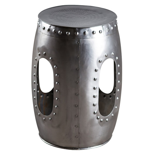 Steel Round Rivet Barrel Stool (India)