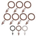 Barricade Window Hardware Rings (Set of 14)