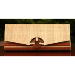 Buriti Palm 'Tropical Chic' Clutch Handbag (Brazil)