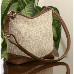 Cotton 'Honey Weaves' Shoulder Bag (Guatemala)