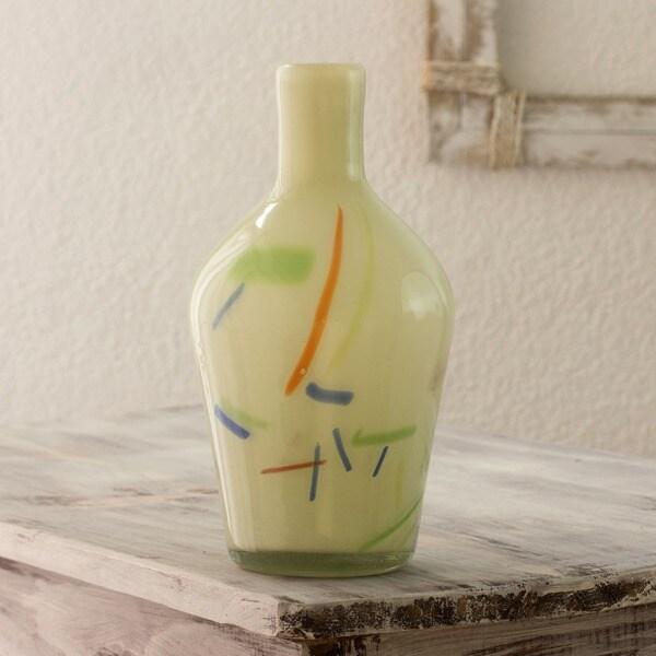 Blown Glass 'Fiesta' Vase (Guatemala)