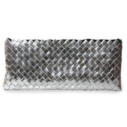 Recycled Metalized Wrapper 'Eco Splendor' Clutch Bag (Guatemala)