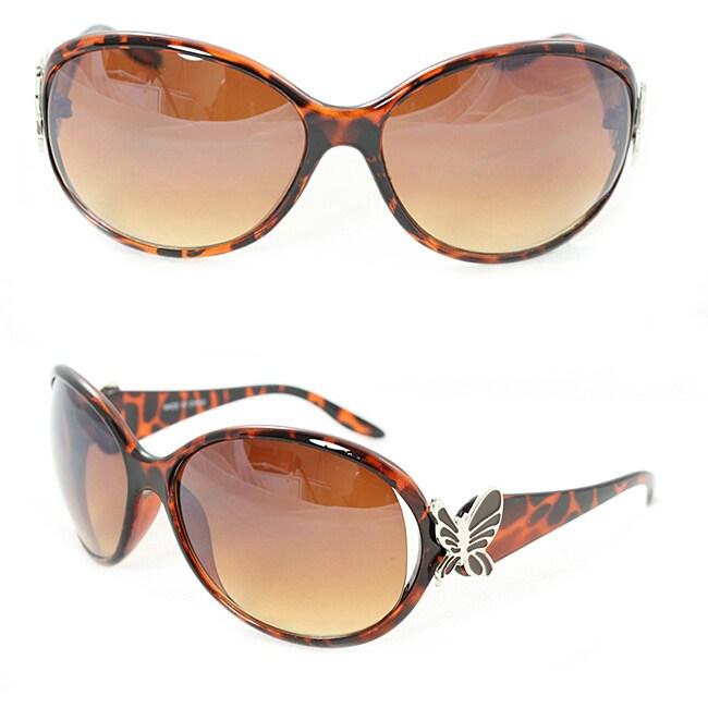 Women's Leopard Butterfly Fashion Sunglasses