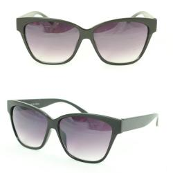 Unisex 2177 Black Plastic Fashion Sunglasses