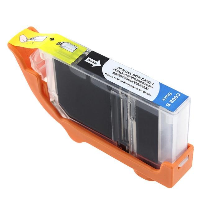 INSTEN Canon CLI-8BK Compatible Black Ink Cartridge