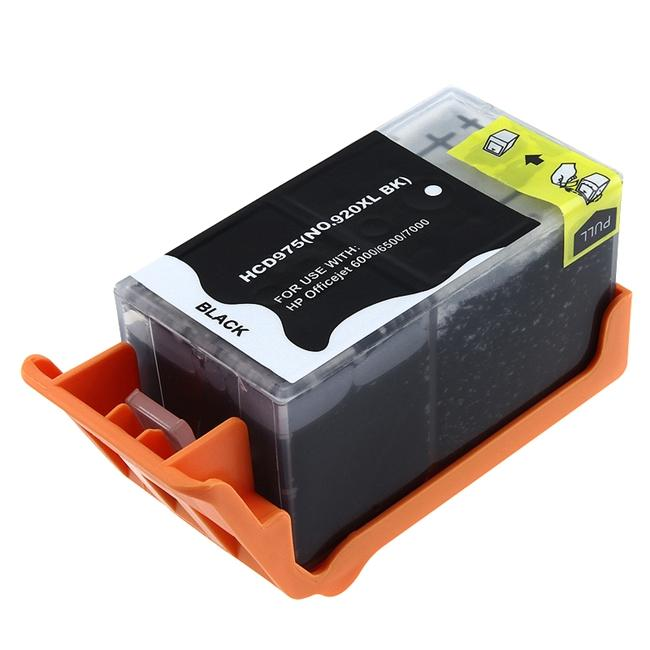 INSTEN HP 920XL CD975AN Compatible Black Ink Cartridge